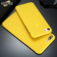 KISSCASE Supper Thin Case For iPhone 7 Case iPhone7 Plus Cases Hard PC Matte Cover For Apple iPhone 7 7 Plus Shockproof Coque