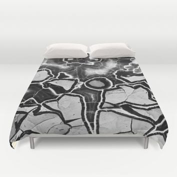 Cracked Duvet Cover by UMe Images