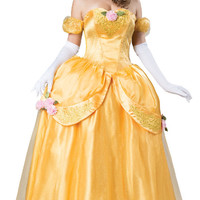 Yellow Fairytale Princess Elite - Adult Costume | (Large)