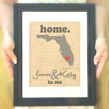 Wedding Gift -Personalized Housewarming Gift - Custom Anniversary Gifts - Unique Engagement Gift - Gift for Couple - Unique Wedding Gifts