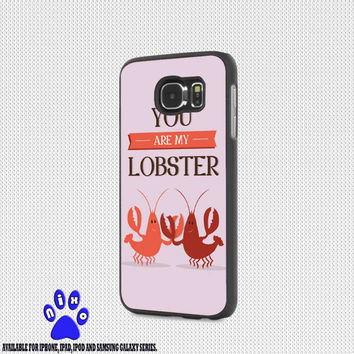 Cute Friends Lobster Quote Pink Love for iphone 4/4s/5/5s/5c/6/6+, Samsung S3/S4/S5/S6, iPad 2/3/4/Air/Mini, iPod 4/5, Samsung Note 3/4 Case * NP*