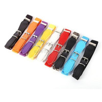 Multi-Colors Child Soft Elastic Belt Adjustable Waistband With Alloy Buckle Kids Accessories