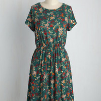 Keep an Open Greenhouse Dress | Mod Retro Vintage Dresses | ModCloth.com