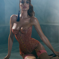 New In by Agent Provocateur - Zaharah Corset