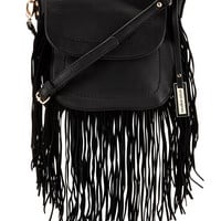 Blow With The Wind Fringe Crossbody Bag - Urban Originals