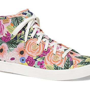 KEDS X RIFLE PAPER CO. KICKSTART HI JULIET FLORAL