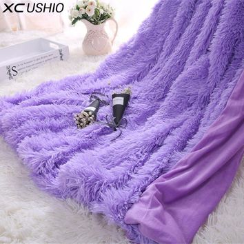 Super Soft Fuzzy Throw Blanket