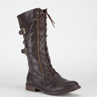 Groove Sedona Womens Boots Brown  In Sizes
