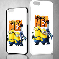 Despicable Me 2 Minions cute Y0010 iPhone 4S 5S 5C 6 6Plus, iPod 4 5, LG G2 G3, Sony Z2 Case