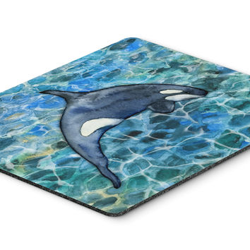 Killer Whale Orca #2 Mouse Pad, Hot Pad or Trivet BB5335MP