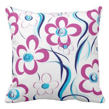 ABSTRACT - Nature in Motion Cushion