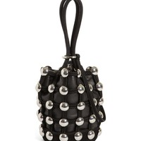 Alexander Wang Mini Roxy Studded Cage Leather Bucket Bag | Nordstrom