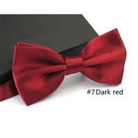 2016 Gentleman Wedding Party Tuxedo Marriage Butterfly Cravat New Men Bright Color Bow Tie Adjustable Business Bowties For Gifts