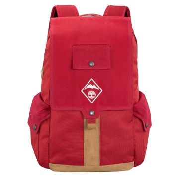 Waxed Canvas 27-Liter Water-Resistant Backpack
