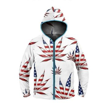 Legalize America Light Up Hoodie