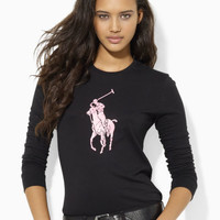 PINK PONY LONG-SLEEVED TEE