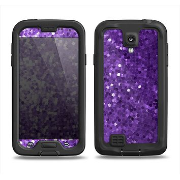 The Purple Shaded Sequence Samsung Galaxy S4 LifeProof Nuud Case Skin Set