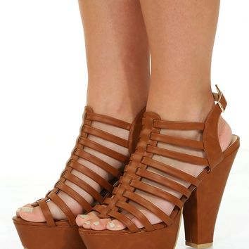 We'll Be Okay Heels: Camel - Shoes - Hope's Boutique