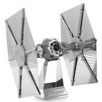 2015 New Arrival Star Wars Tie Fighter Fun 3d Metal Diy Steel Scale Miniature Model Kids Puzzle Toys Jigsaw Adults Hobby Kits