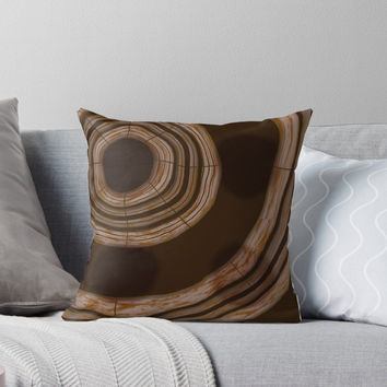 'Life of a tree' Throw Pillow by Christy Leigh