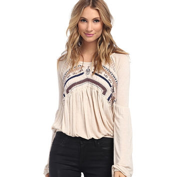 Free People In The Flowers Top