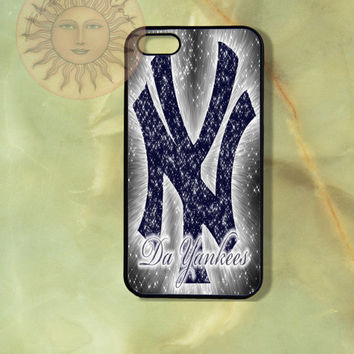 NY Yankee Baseball Team -iPhone 5, 4s, 4 case,Ipod touch 5, Samsung GS3, GS4case - Silicone Rubber or Hard Plastic Case, Phone cover