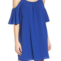 French Connection 'Polly' Cold Shoulder Shift Dress | Nordstrom