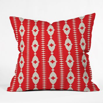 Holli Zollinger Ribbon Throw Pillow