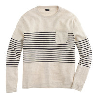 J.Crew Mens Textured Cotton Beach Sweater