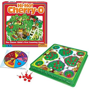 Hi - Ho! Cherry - O Board Game