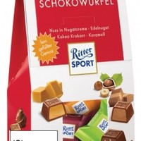 Ritter Sport Chocolate Cubes, Stand-Up Bag, 4.23 oz