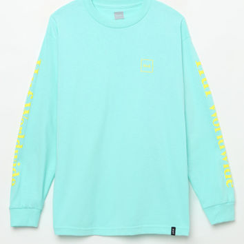 HUF Overdyed Pastel Long Sleeve T-Shirt at PacSun.com