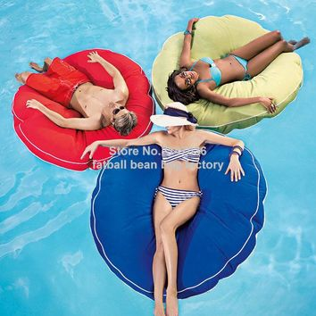 Island design bean bag float chair outdoor round beanbag seat furniture Large cuddle bean cushion set