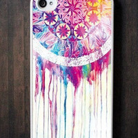 Personalized Dream Catcher - Apple iPhone 4s case and iPhone 4 Case -plastic hard Iphone cover iphone 4 cover