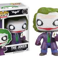 Funko POP! Dark Knight JOKER Heath Ledger Bobblehead PVC Figure
