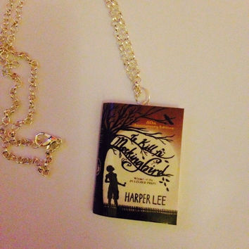 To Kill a Mockingbird Book Necklace