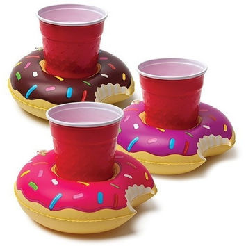 BigMouth Frosted Donut Beverage Boats