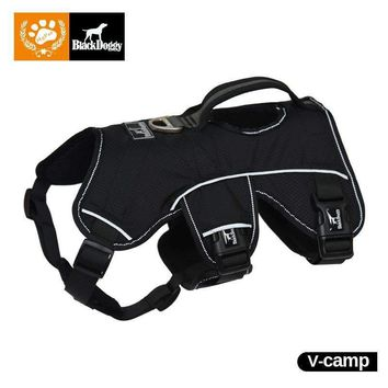 Christmas Dog Harness Pet Products For Large Dogs Vest Reflective Glowing Led Collar Leads Training Harness Safety VC16-OHC001