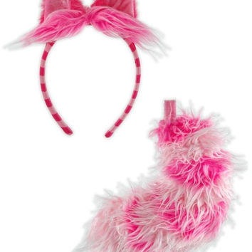 cheshire cat ear/tail set