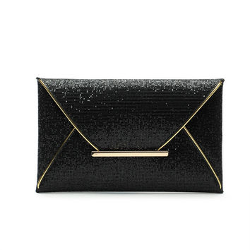 Luxury brand Evening  Envelope Bag Purse Clutch Handbags