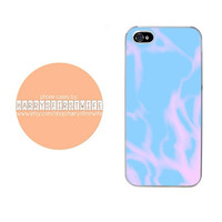 Blue and Pink Tie Dye iPhone 4/4s 5/5s/5c & iPod 4/5 Case