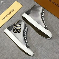 LV 2018 new trend high men's casual sports shoes #1
