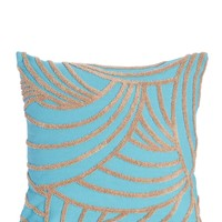 Zig Zag Embroidery Pillow