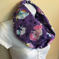 My Little Pony infinity flannel scarf