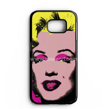 Andy Warhol Marilyn Monroe Pop Art Iconic Colorful Superstar Cute Samsung Galaxy Note 7 Case | aneend