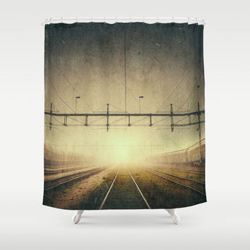Where to go Shower Curtain by HappyMelvin