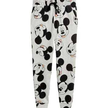 H&M Patterned Jersey Joggers $17.99