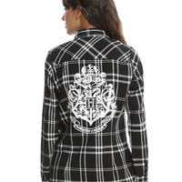 Harry Potter Hogwarts Plaid Girls Woven