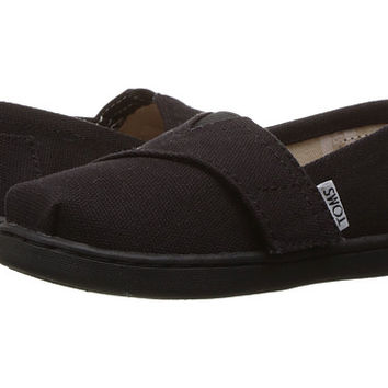 TOMS Kids Alpargata 2.0 (Infant/Toddler/Little Kid) Ash Canvas - Zappos.com Free Shipping BOTH Ways
