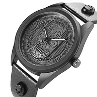 Skull Head Stainless Steel Men Watch